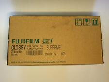 1x 2 Rollen FUJIFILM CA Supreme 20,3cm x 80m glossy, Fotopapier