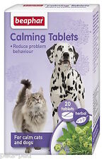 Calming Tablets, Dogs and cats, stress relief, problem behaviour, fireworks,vets