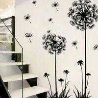Flower Dandelion Wall Art Decal Sticker Removable Mural PVC Vinyl Home Decor US