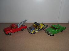 09.10.16.9 Lot pick up dodge incomplets voiture miniature Majorette