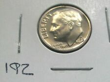 1972-S ROOSEVELT DIME, PROOF CONDITION FROM A PROOF SET. HIGH GRADE. (192)