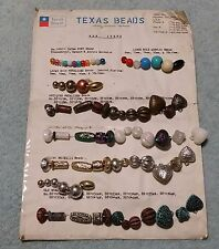 Texas Beads Crafts Display Card