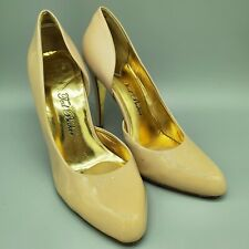 Ted Baker Nude Rose Gold Patent Pump Size 7
