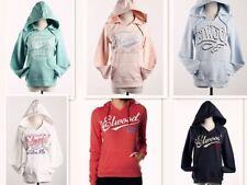 Hot Womens Elwood Fleece Pullove Hoodie Sweatshirt Jumper Tops Size XS S M