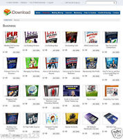 eBooks, Digital Items Download Store Website For Sale - 150+ items included