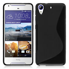 Housse Etui Coque TPU Silicone S-Line NOIR pour HTC Desire 628/ 628 dual sim