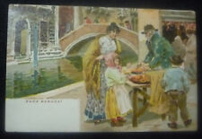 VENEZIA - CROMO - VENDITORE ZUCA BARUCA - 1900