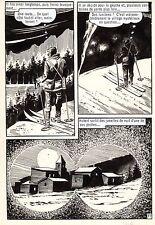 OSS 117 LE CHIMPANZEE QUI PARLE (BRUCE/SANCHEZ) PLANCHE ORIGINALE PAGE 71