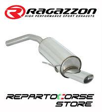 RAGAZZON SCARICO TERMINALE OVALE ALFA ROMEO 156 2.0JTS 122kW 166CV 03/2002►