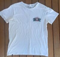 Vintage Mambo Size L TShirt White Graphic Single Stitch Casual