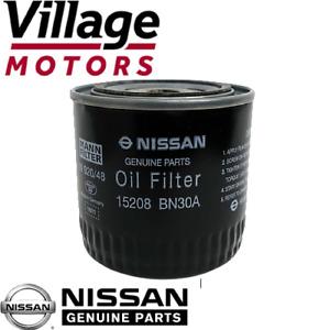 Genuine Nissan Navara D22/D40M/D40T Pathfinder R51M | Oil Filter | 15208-BN30A