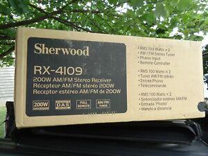 Vintage Sherwood RX RX-4109 2 Channel 100 Watt Receiver NEW BOX FACTORY SEALED