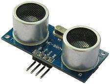 MODULO SENSOR ULTRASONICO HC-SR04 MEDIDOR DISTANCIA ROBOTS ELECTRONICA ARDUINO