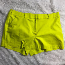 Lane Bryant Modernist Collection Shorts Womens Plus Size 28 Bright Yellow