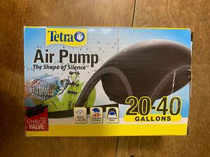 Tetra Whisper Air Pump 20 -40 Gallons aquariums, Powerful Airflow, Non-UL Listed