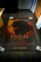 THE PASSION OF CHRIST 4x6 ft Bus Shelter D/S Movie Poster Original 2004