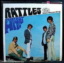 THE RATTLES-GREATEST HITS-Rare 60's Garage Rock Promo Album-STAR CLUB (Mercury)