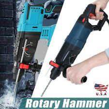 800w Heavy Duty Electric Rotary Hammer Drill Breaker Sds Plus Bit Chisel Us Hot