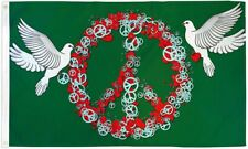 """New listing """"Peace And Love"""" 3x5 ft flag polyester"""