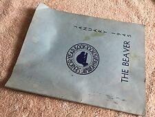 """1945 Jamaica High School yearbook Queens New York """"The Beaver"""""""