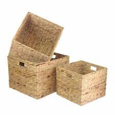 Water Hyacinth Square Storage Basket