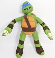 """Nickelodeon Teenage Mutant Ninja Turtles LEONARDO 10"""" Plush STUFFED ANIMAL Toy"""