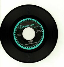JOHNNY CRAWFORD-SANDY/OL' SHORTY(NON LP OR CD)-DEL FI 45 NM-RARE-NEW LOWER PRICE