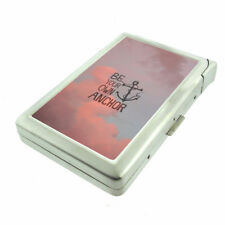 Be Your Own Anchor Em1 Cigarette Case with Built in Lighter Metal Wallet