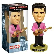Elvis Presley Funko 1950s Pink Jacket Suit Bobble Bobblehead Guitar Signature
