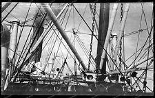 Vintage-Negativ-Panama-Kanal-Canal-Passagier-Dampfer-Schiff-Ship-Bahn-1920s-7