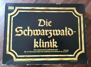 Die Schwarzwaldklinik - Das Spiel - 1986 - ZDF Serie - Rarität - Holzfiguren