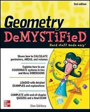 Geometry DeMYSTiFieD, 2nd Edition, , Gibilisco, Stan, Very Good, 2011-04-14,