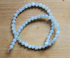 Agate Dragon Vein (Gemstone) 6mm Round Beads - Full Strand