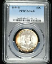 1954-D PCGS MS65+ Franklin Half Dollar 50C 99c NO RESERVE  Witter Coin