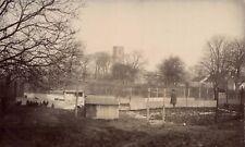 Carbrooke near Watton. Farm & Church.