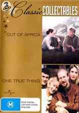 OUT OF AFRICA / ONE TRUE THING MERYL STREEP ROBERT REDFORD (2 DVD) ***