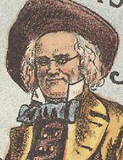 Jahrhunderts Vaudeville ALVIN JOSLIN Bühne Show Comedy Old Trade Card * Sonderaktion * TC300