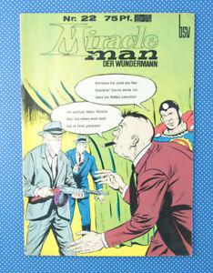 Miracleman | Der Wunder Mann | Nr. 22 | 75 Pf. | BSV | Williams |