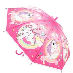 Antonio Kinder Regenschirm Einhorn Pink