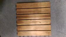 Holzfliesen Terrassenfliesen Akazienfliesen geölt