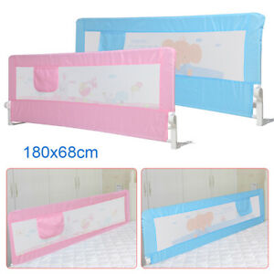 180cm Safety Bed Guards Folding Child Toddler Safety Guard Bed Rail Protection