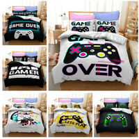 Gamepad Game Handle Controller Bedding Set Duvet Comforter Cover Pillowcase