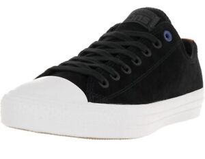 Converse CTAS Pro Ox (Black/Black/White) Men's Skate Shoes