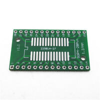 50Pcs SOP8//SSOP8//TSSOP8//SMD To DIP8 Adapter 0.65//1.27mm Z9O9 DIY Board PCB T8S3