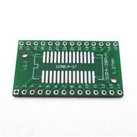 5Pcs SMD SOP28 SSOP28 TSSOP28 0.65mm 1.27mm to DIP 2.54mm PCB Adapter