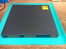 Cisco WS-C3550-24PWR 24 Port Switch  No Rack Mounts
