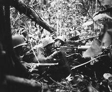 "Marine Gunners pushing Japanese Soldiers back 8""x 10"" World War II Photo 291"
