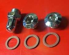 Lambretta Magnetic Oil Plug Oil Level and Filler All Series 2 and 3 LI SX TV GP