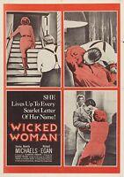 Wicked Woman (Film Noir '53) Beverly Michaels, Richard Egan, Percy Helton.