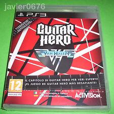 GUITAR HERO VAN HALEN NUEVO Y PRECINTADO PAL ESPAÑA PLAYSTATION 3